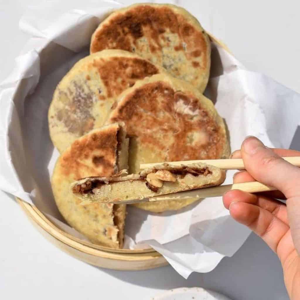 Korean hotteok pancakes
