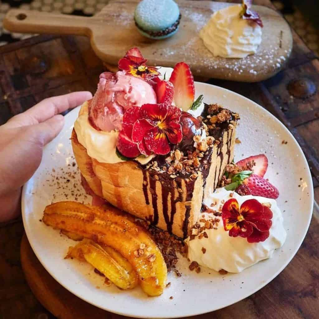 Luscious Shibuya style dessert by Little Digs Cafe