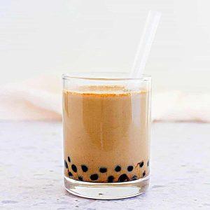 Okinawa milk tea recipe using kokuto