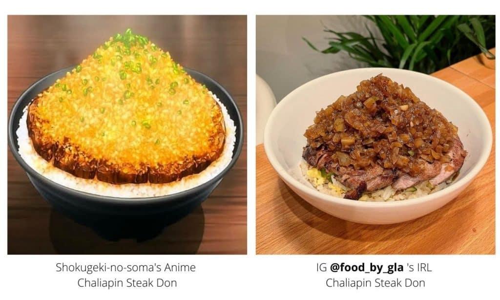 Shokugeki-no-soma's Chaliapin Steak Don