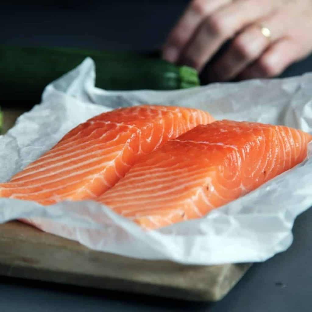 Types of salmon meat
