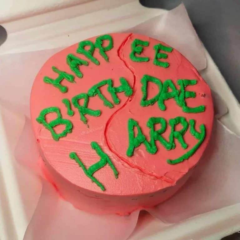 Harry Potter Cake Idea Happee Birthdae