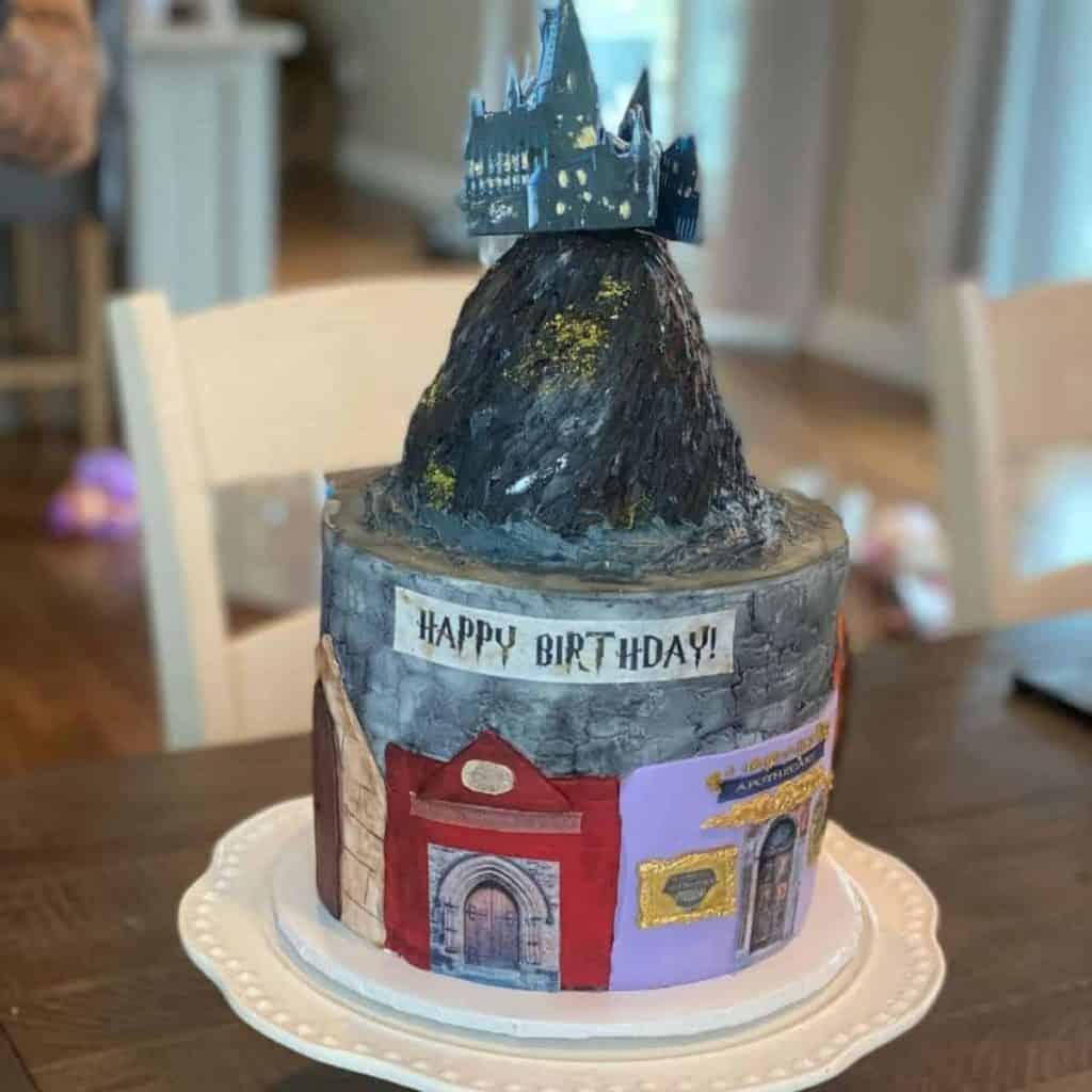 Hogwarts castle design