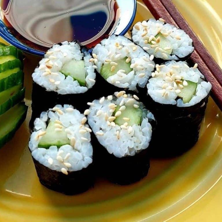 Kappa maki recipe cucumber roll