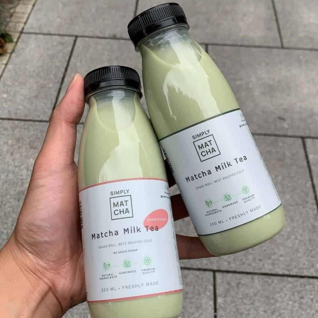 Matcha Milk Tea by Simply Matcha