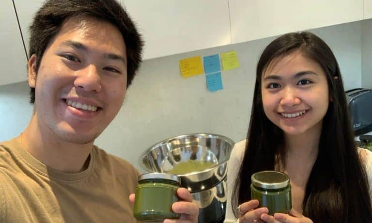 Simply Matcha Co Founders Victor and Nethya
