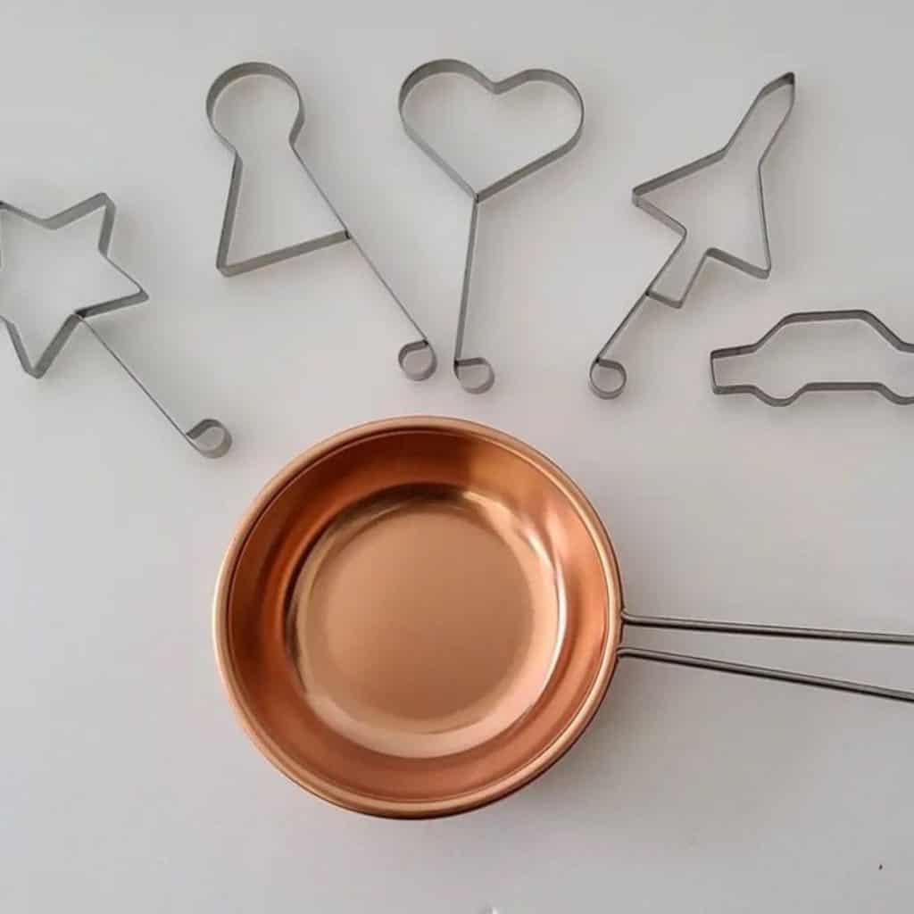 Candy pot copper